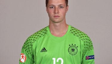 Lennart Grill im Trikot der Nationalmannschaft