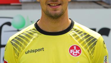 Portraitbild von Torhüter Jan-Ole Sievers Saison 2017/18