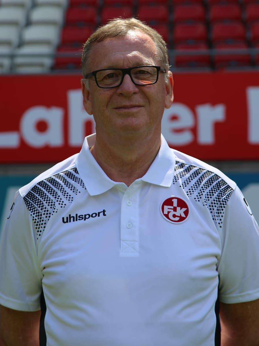 Mannschaftsarzt Dr. Harald Dinges