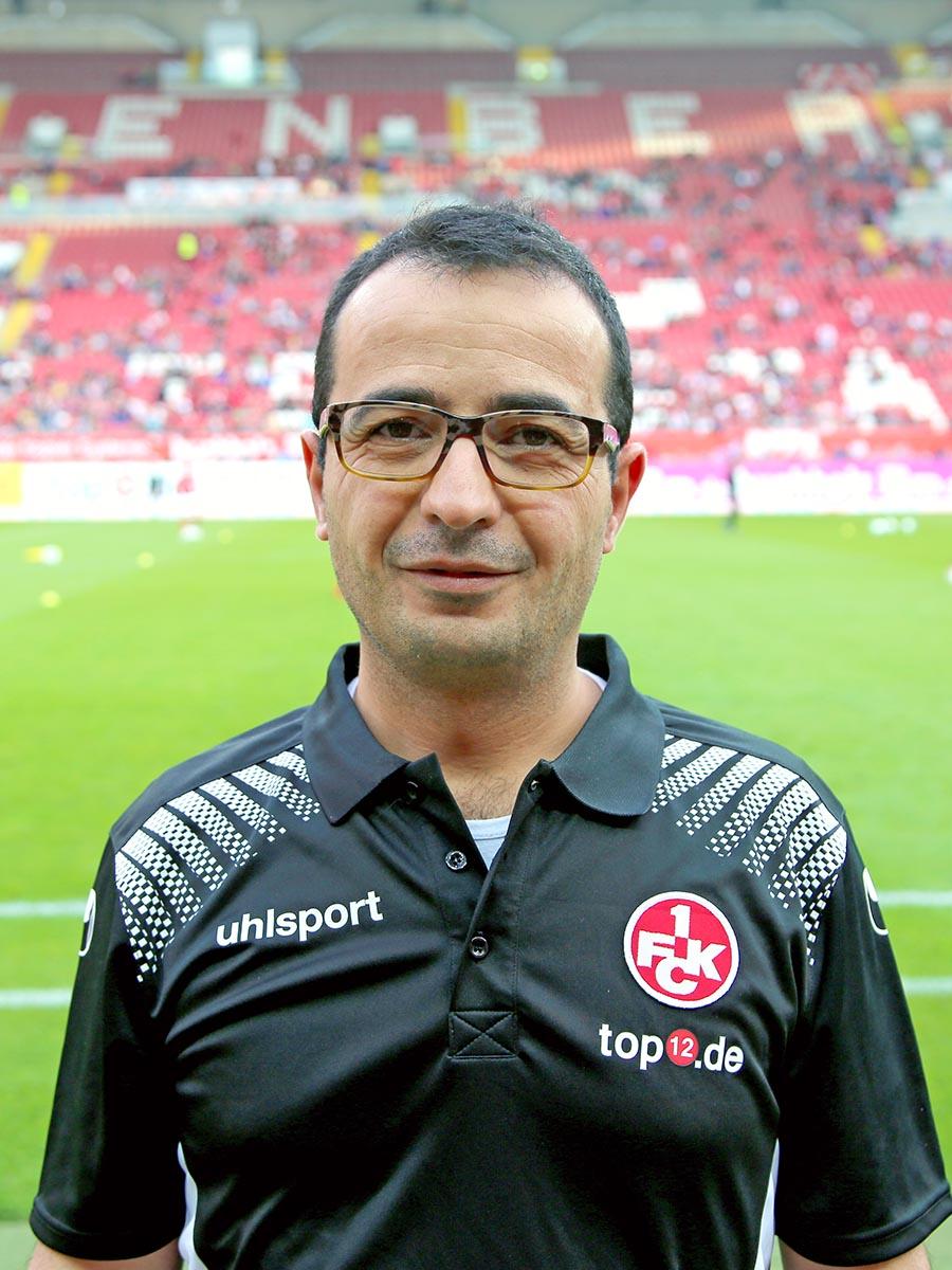 Mannschaftsarzt Hamzeh Jaradat