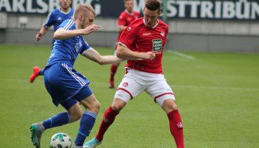 Christian Kühlwetter beim Spiel gegen Pirmasens, 12. August 2017