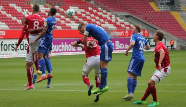 Spielszene U23 beim Spiel gegen Pirmasens, 12. August 2017