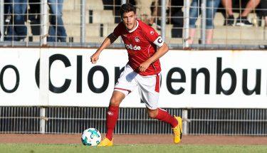 FCK-Abwehrspieler Benjamin Kessel in Aktion