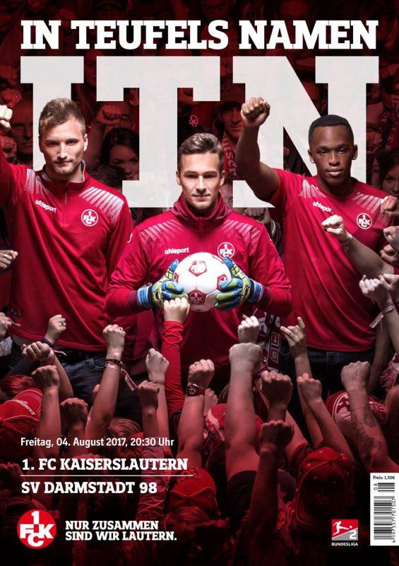 Cover des Stadionmagazins zum Darmstadt-Heimspiel