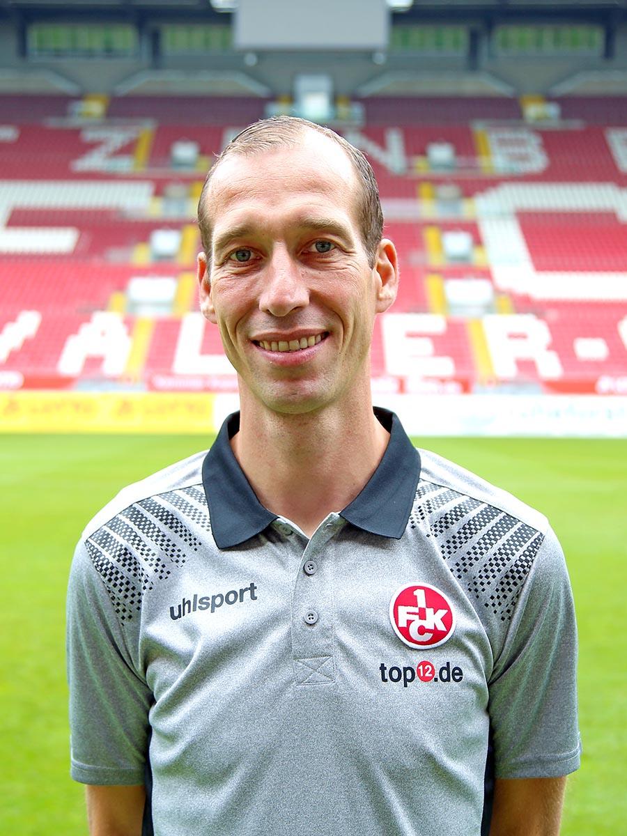 Cheftrainer Jeff Strasser