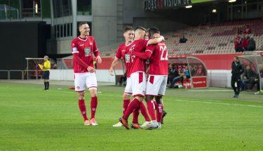 Spielszene aus der Partie FCK II - FSV Jägersburg