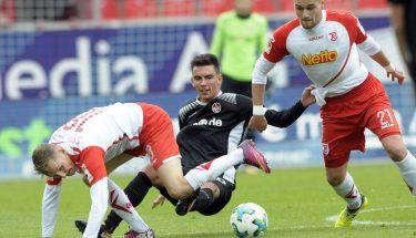 Christoph Moritz im Spiel in Regensburg
