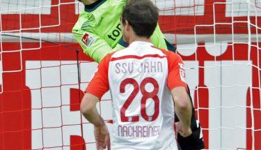 Marius Müller im Spiel in Regensburg
