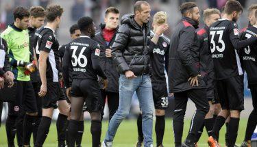 Rote Teufel nach dem Spiel in Regensburg