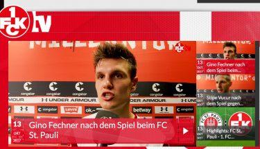 FCK-TV nach dem Spiel gegen Sankt Pauli