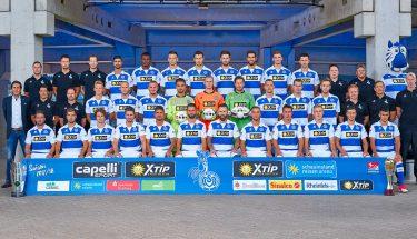 Mannschaftsfoto des MSV Duisburg