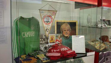 Ronnie Hellström Ausstellungsstücke im FCK-Museum