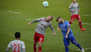 Sebastian Andersson im Test gegen Mainz 05 II