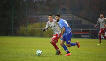 Christoph Moritz im Test gegen Mainz 05 II