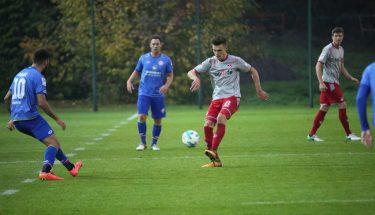 Gino Fechner im Test gegen Mainz 05 II