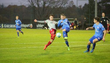 David Tomic im Test gegen Mainz 05 II