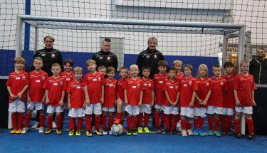 Start der FCK-Fußballschule am Montag, 13. November 2017