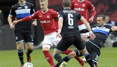 Nils Seufert im Spiel gegen Arminia Bielefeld