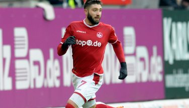 Brandon Borrello im Spiel gegen Bielefeld.