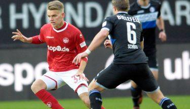 Nicklas Shipnoski im Spiel gegen Bielefeld.