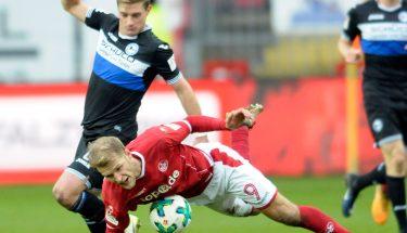 Sebastian Andersson im Spiel gegen Bielefeld.