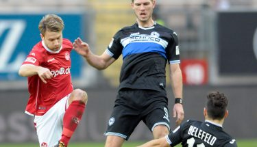 Daniel Halfar im Spiel gegen Bielefeld.