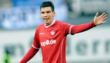 Christoph Moritz im Spiel gegen Bielefeld.