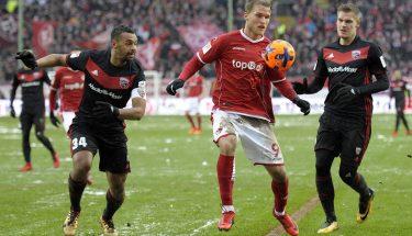 Sebastian Andersson am Ball gegen Ingolstadt