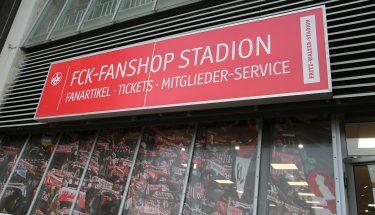 FCK-Fanshop Stadion von außen