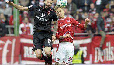 Nils Seufert im Heimspiel gegen den 1. FC Nürnberg