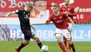 Nicklas Shipnoski im Heimspiel gegen den 1. FC Nürnberg