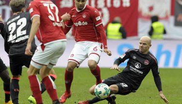 Leon Guwara im Heimspiel gegen den 1. FC Nürnberg