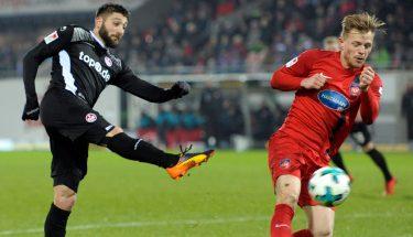 Brandon Borrello im Spiel gegen Heidenheim.