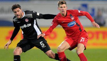 Benjamin Kessel im Zweikampf im Spiel gegen Heidenheim.
