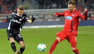 Nicklas Shipnoski im Spiel gegen Heidenheim.