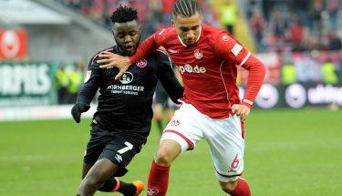 Leon Guwara im Spiel gegen Nürnberg