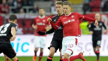 Torben Müsel im Spiel gegen Nürnberg
