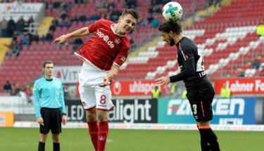 Gino Fechner im Spiel gegen Nürnberg