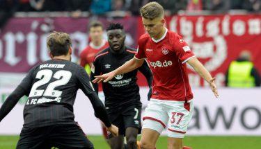 Nicklas Shipnoski im Spiel gegen Nürnberg