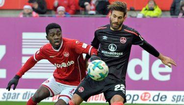 Dylan Esmel im Spiel gegen Nürnberg