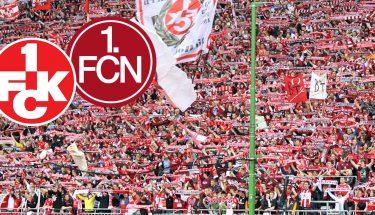 Vorberichtsbild zum Spiel des FCK gegen den 1. FC Nürnberg mit der Westkurve