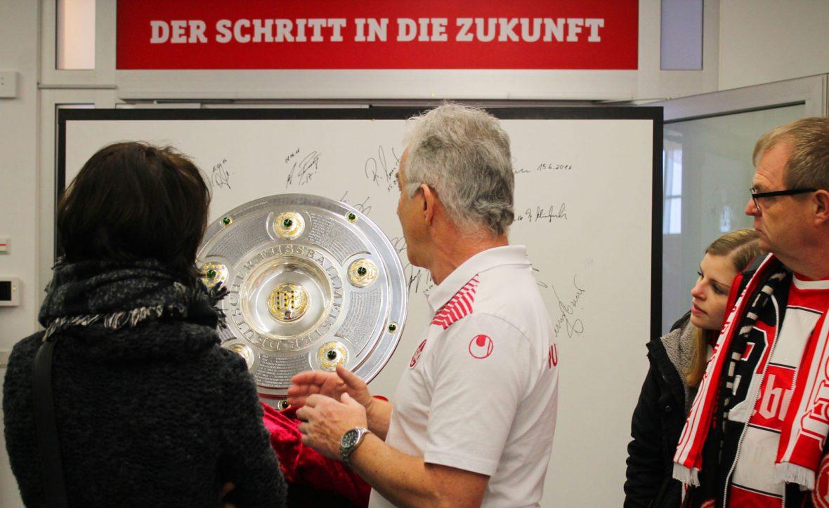 Das FCK-Museum öffnet auch zum Heimspiel gegen Holstein Kiel