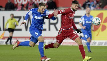 Lukas Spalvis im Heimspiel gegen Holstein Kiel