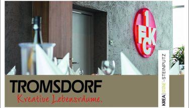 Die HOLZ-TROMSDORF GmbH hat die ClubLounge100 auf dem Betze neugestaltet