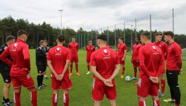 Trainingsauftakt bei der U21