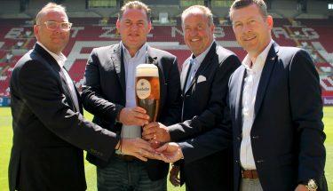Krombacher ist seit der Saison 2018/19 neuer Bierpartner beim FCK