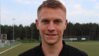 U17-Trainer Benjamin Glump