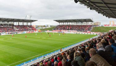 Das Stadion Zwickau, Spielstätte des FSV Zwickau