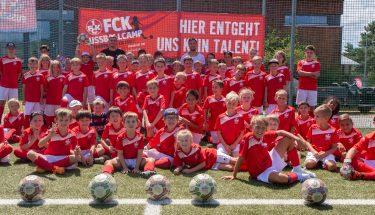 FCK-Fußballcamp präsentiert von der IKK Südwest 2018