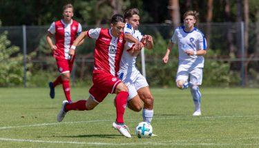 Anil Gözütok im Heimspiel der U19 gegen den Karlsruher SC